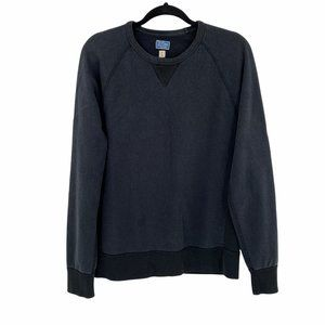 J. Crew Mens Garment Dyed French Terry Sweatshirt